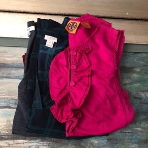 BUNDLE OF TORY BURCH , MADEWELL , J. CREW TOPS XS